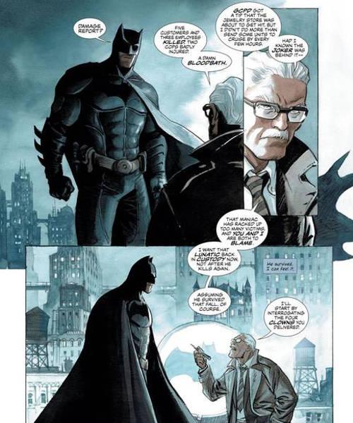 Batman Enrico Marini - De Segunda