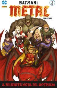Batman: Metal Especial 1 capa - De Segunda