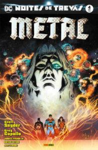 Noites de Trevas: Metal 4 capa