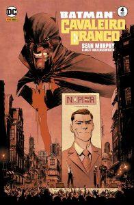 Batman - Cavaleiro Branco 4 capa