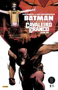 Batman - A maldição do Cavaleiro Branco 1 capa