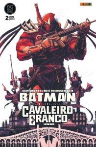 Batman - A Maldição do Cavaleiro Branco 2 capa | De Segunda