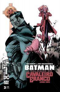 Batman - A Maldição do Cavaleiro Branco 3 capa | De Segunda