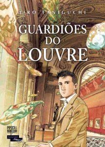 Guardiões do Louvre capa