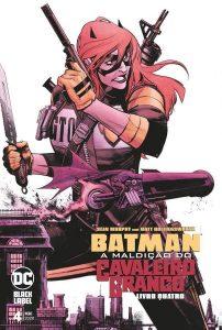 Batman A Maldição Do Cavaleiro Branco - 04 capa   De Segunda Blog