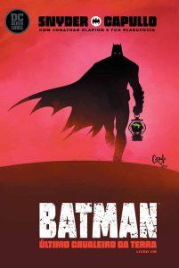 Batman: O Último Cavaleiro da Terra #1 capa