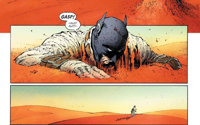 Batman: O Último Cavaleiro da Terra #1