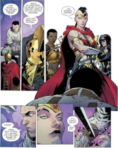 Batman: O Último Cavaleiro da Terra #1   Mulher-Maravilha