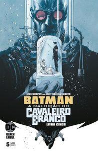 Batman: A Maldição do Cavaleiro Branco 5 capa