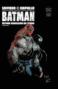 Batman: O Último Cavaleiro da Terra 2 capa   De Segunda