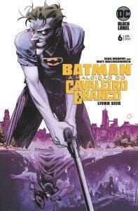 Batman: A Maldição do Cavaleiro Branco 6 capa
