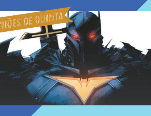 Batman A Maldição do Cavaleiro Branco 7 review | De Segunda