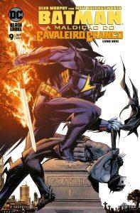 Batman A maldição do cavaleiro branco 9 capa