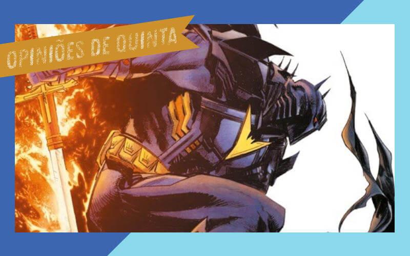 Batman A maldição do cavaleiro Branco 9 review