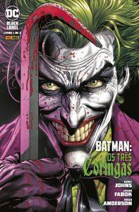 Batman Três Coringas vol 1 capa | De Segunda