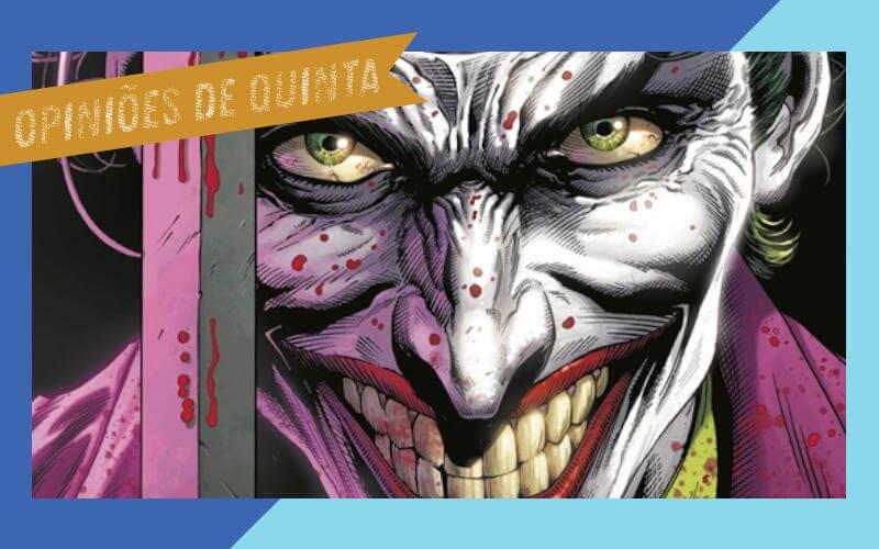 Batman Os Três Coringas vol 01 review