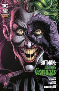 Batman os tres coringas vol 3 capa